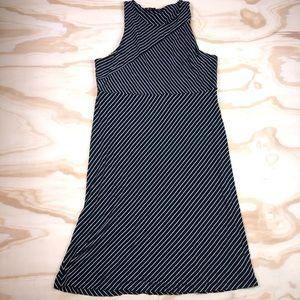 Athleta Sleeveless Striped Midi Dress size M